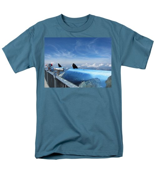 Men's T-Shirt  (Regular Fit) featuring the photograph Bird Watch by Pema Hou