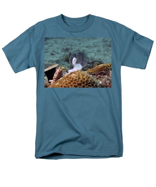 Birth Of Marine Cuttlefish Men's T-Shirt  (Regular Fit) by Sergey Lukashin