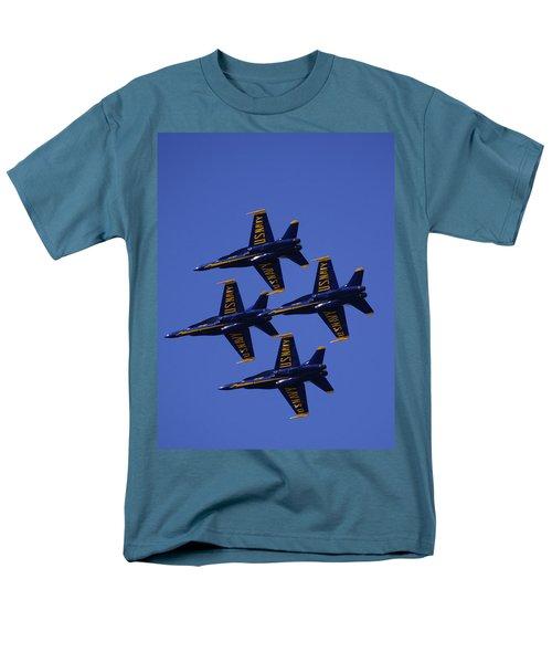 Blue Angels Men's T-Shirt  (Regular Fit) by Bill Gallagher