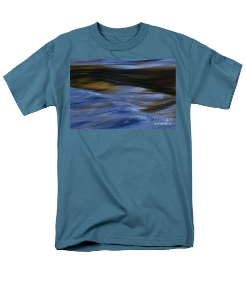 Men's T-Shirt  (Regular Fit) featuring the photograph Blue Georgia Impressions by John F Tsumas