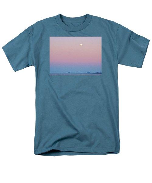 Blue Moon  Men's T-Shirt  (Regular Fit) by Deborah Lacoste
