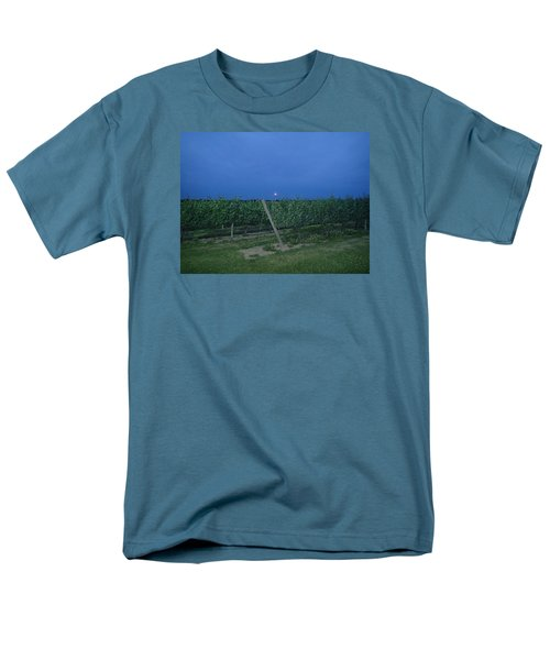 Men's T-Shirt  (Regular Fit) featuring the photograph Blue Moon by Robert Nickologianis