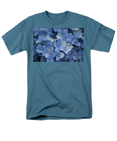 Blue Over You With Tears Men's T-Shirt  (Regular Fit) by Living Color Photography Lorraine Lynch