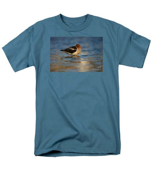 Men's T-Shirt  (Regular Fit) featuring the photograph Blue Solitude by John F Tsumas