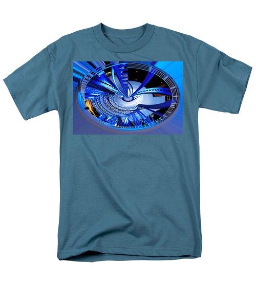 Blue Steel Men's T-Shirt  (Regular Fit) by Evie Carrier