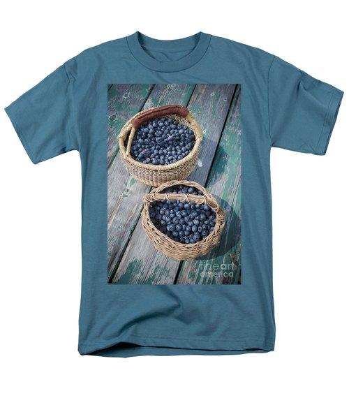 Blueberry Baskets Men's T-Shirt  (Regular Fit) by Edward Fielding