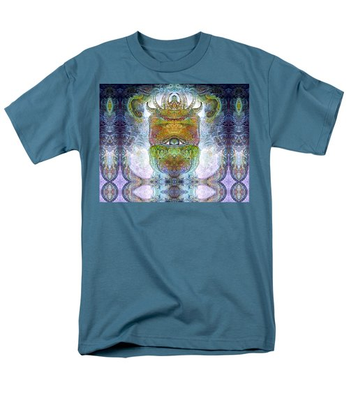 Men's T-Shirt  (Regular Fit) featuring the digital art Bogomil Variation 15 by Otto Rapp