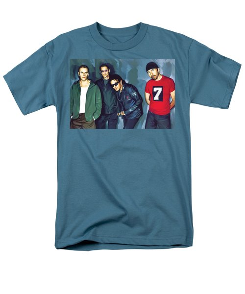 Bono U2 Artwork 5 Men's T-Shirt  (Regular Fit) by Sheraz A