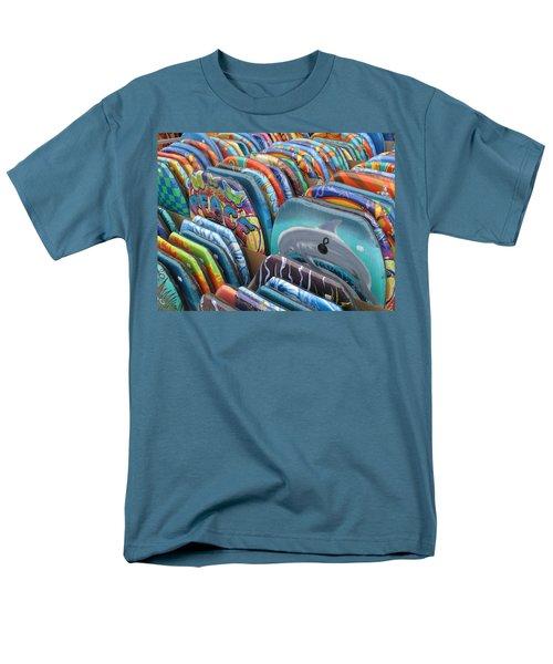Men's T-Shirt  (Regular Fit) featuring the photograph Boogie Boards by Barbara McDevitt