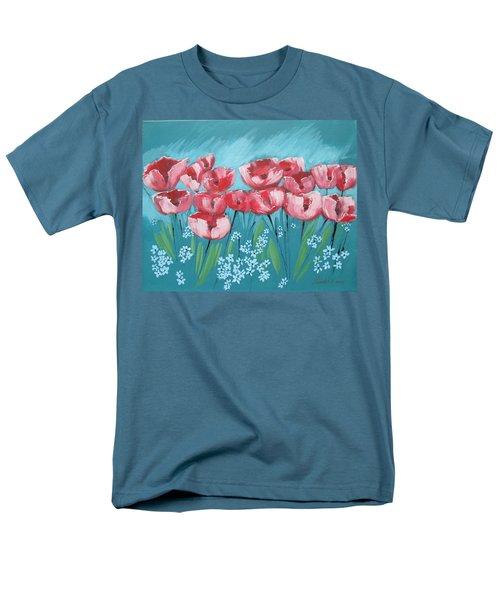 Brezzy Poppies Men's T-Shirt  (Regular Fit)
