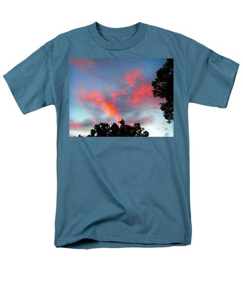 Brush Strokes Men's T-Shirt  (Regular Fit) by Zafer Gurel