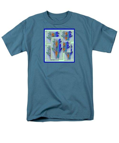 Butterflies 2 Men's T-Shirt  (Regular Fit) by Iris Gelbart
