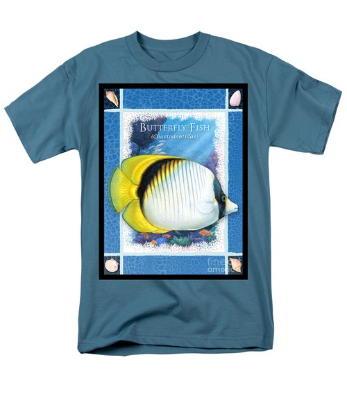 Butterfly Fish Men's T-Shirt  (Regular Fit)