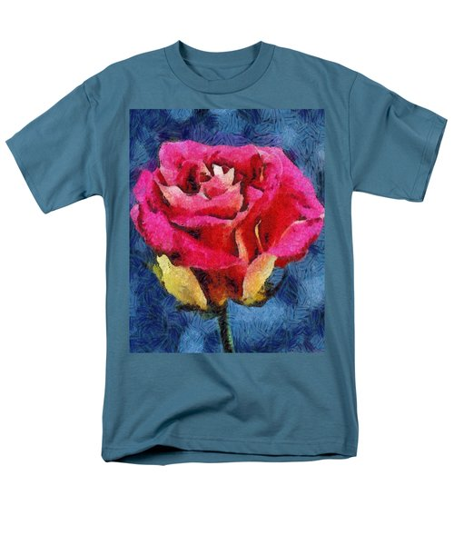 Men's T-Shirt  (Regular Fit) featuring the digital art By Any Other Name by Joe Misrasi