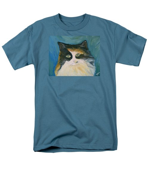 Men's T-Shirt  (Regular Fit) featuring the painting Cali by Victoria Lakes