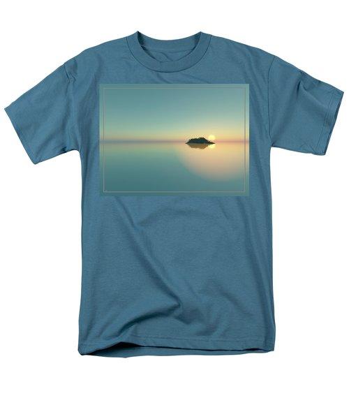 Calm Seas Sunset... Men's T-Shirt  (Regular Fit)