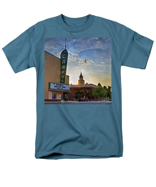 Campus At Sunrise Men's T-Shirt  (Regular Fit) by Gary Holmes