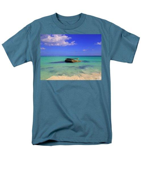 Men's T-Shirt  (Regular Fit) featuring the photograph Caribbean Colors  by Eti Reid