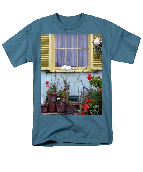 Catnap Men's T-Shirt  (Regular Fit) by Barbie Corbett-Newmin