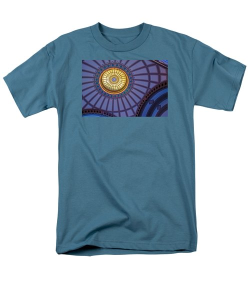 Men's T-Shirt  (Regular Fit) featuring the photograph Ceiling In The Chattanooga Choo Choo Train Depot by Susan  McMenamin