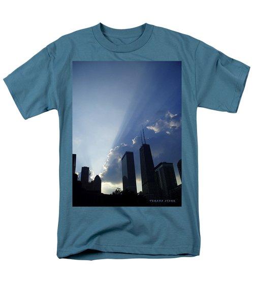 Chicago Sunset Men's T-Shirt  (Regular Fit) by Verana Stark