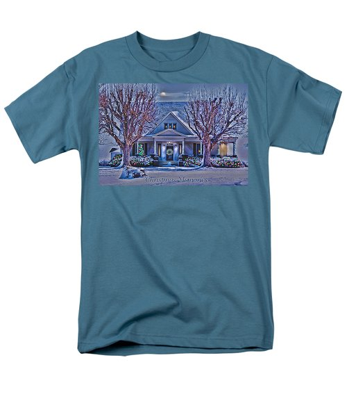 Christmas Memories Men's T-Shirt  (Regular Fit) by Bonnie Willis