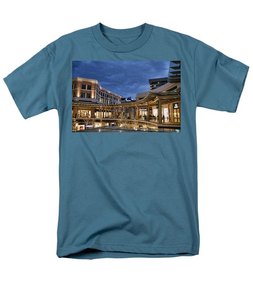 Men's T-Shirt  (Regular Fit) featuring the photograph City Creek by Ely Arsha