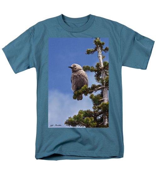 Clark's Nutcracker In A Fir Tree Men's T-Shirt  (Regular Fit) by Jeff Goulden