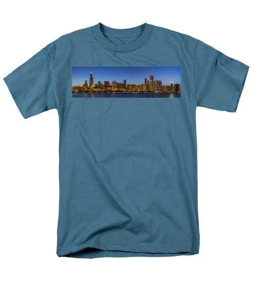 Men's T-Shirt  (Regular Fit) featuring the photograph Clear Blue Sky by Sebastian Musial