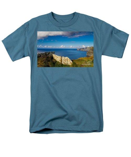 Men's T-Shirt  (Regular Fit) featuring the photograph Cliffs Of Moher by Juergen Klust