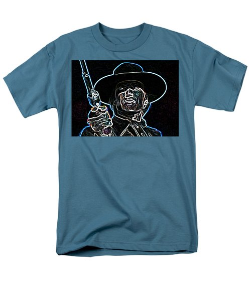 Men's T-Shirt  (Regular Fit) featuring the painting Clint by Hartmut Jager