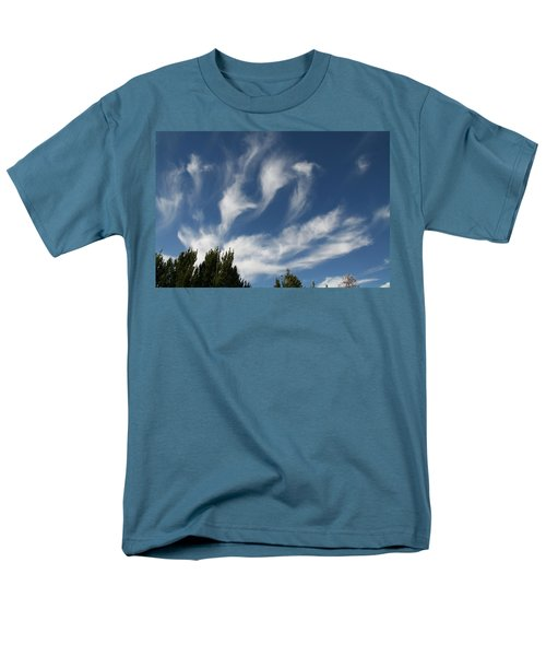 Men's T-Shirt  (Regular Fit) featuring the photograph Clouds by David S Reynolds