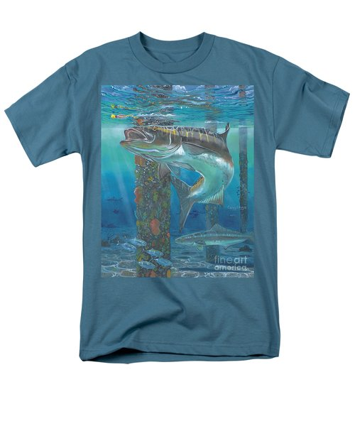 Cobia Strike In0024 Men's T-Shirt  (Regular Fit) by Carey Chen