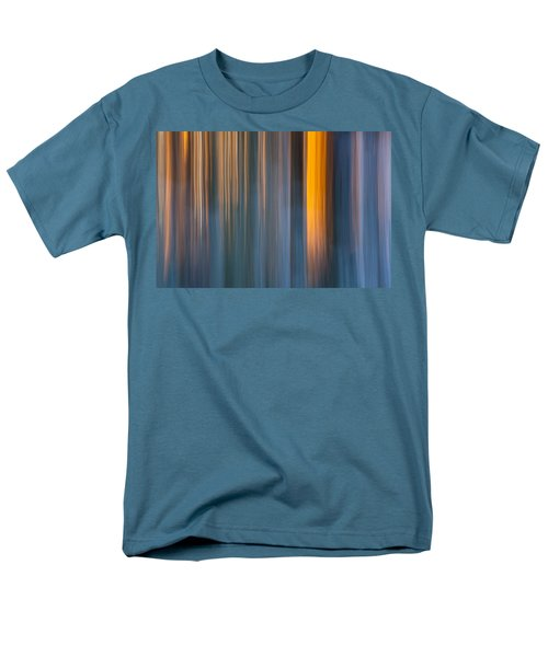 Men's T-Shirt  (Regular Fit) featuring the photograph Cold Shadows by Davorin Mance