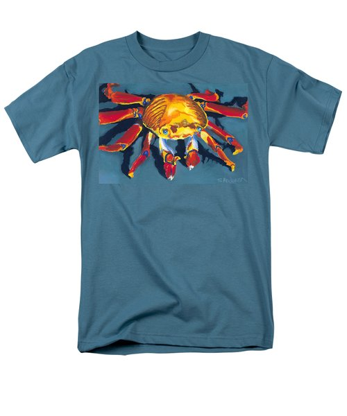 Colorful Crab Men's T-Shirt  (Regular Fit) by Stephen Anderson