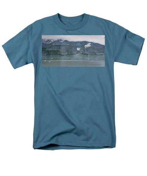 Colors Of Alaska - Glacier Bay Men's T-Shirt  (Regular Fit)