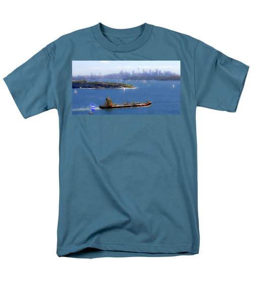 Men's T-Shirt  (Regular Fit) featuring the photograph Coming In by Miroslava Jurcik
