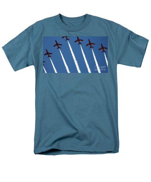Coming To  Land Men's T-Shirt  (Regular Fit) by Tracey Williams