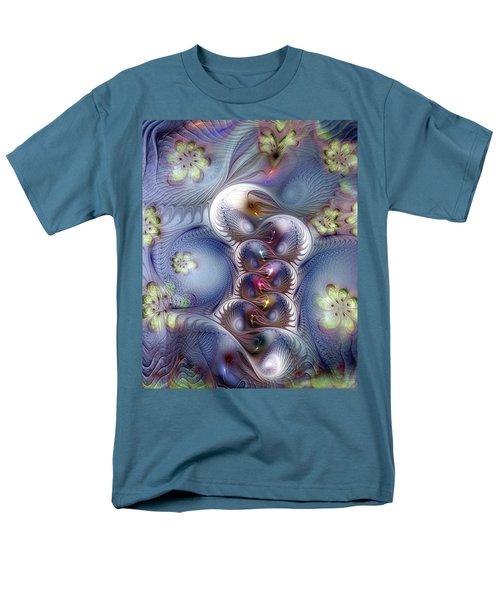 Men's T-Shirt  (Regular Fit) featuring the digital art Complicit In Comfort by Casey Kotas