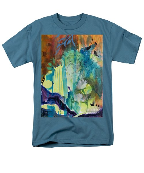 Men's T-Shirt  (Regular Fit) featuring the painting Continuum by Robin Maria Pedrero