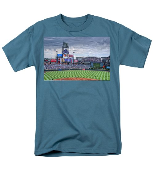 Coors Field Men's T-Shirt  (Regular Fit) by Ron White