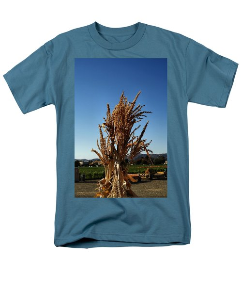Men's T-Shirt  (Regular Fit) featuring the photograph Corn Top by Michael Gordon