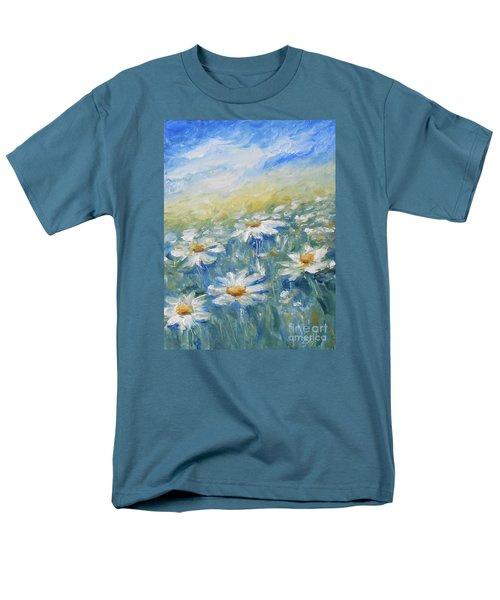 Daisies Men's T-Shirt  (Regular Fit) by Jane  See