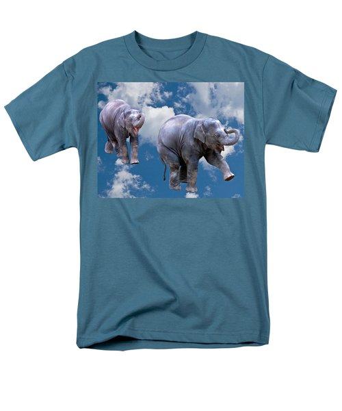Dancing Elephants Men's T-Shirt  (Regular Fit) by Jean Noren