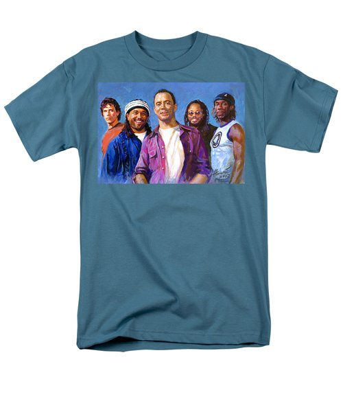Men's T-Shirt  (Regular Fit) featuring the drawing Dave Matthews Band by Viola El