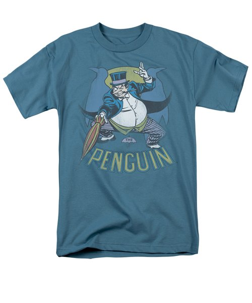 Dc - The Penguin Men's T-Shirt  (Regular Fit) by Brand A