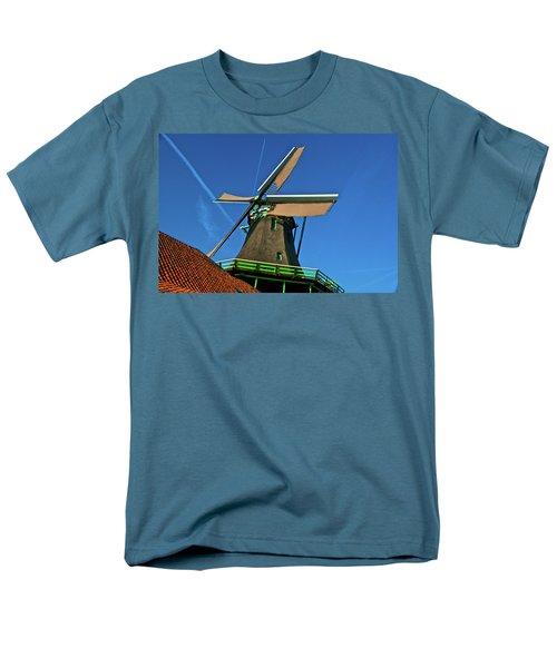 Men's T-Shirt  (Regular Fit) featuring the photograph De Kat Blue Skies by Jonah  Anderson