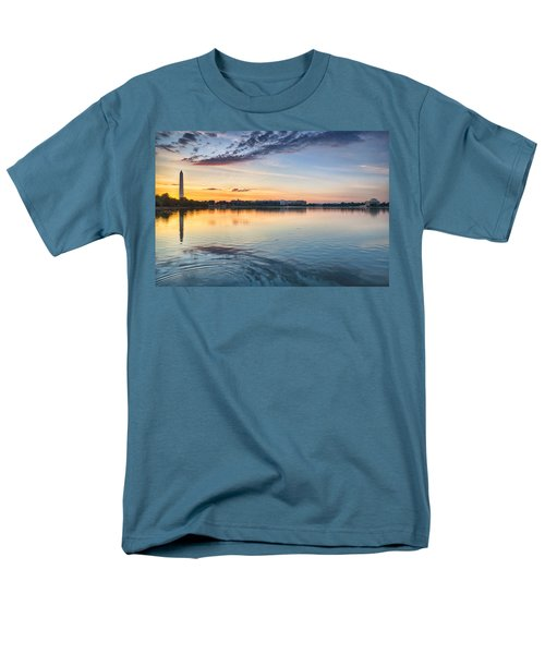 Men's T-Shirt  (Regular Fit) featuring the photograph Democracy Awakens by Sebastian Musial
