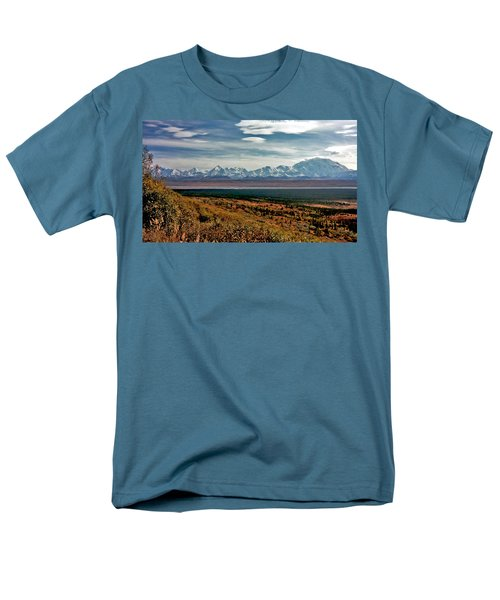 Men's T-Shirt  (Regular Fit) featuring the photograph Denali Colors by Jeremy Rhoades