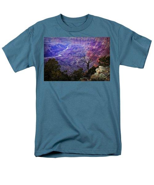 Desert View Sunset Men's T-Shirt  (Regular Fit) by Priscilla Burgers
